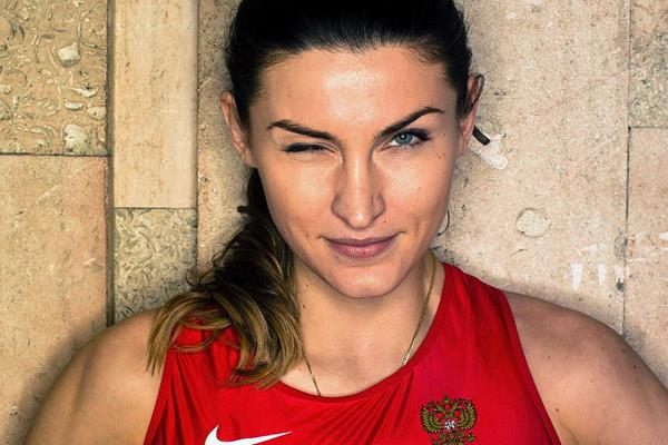 High jumper Anna Chicherova (SPIKES)