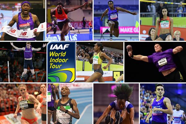 2016 IAAF World Indoor Tour individual event winners (IAAF/ Spikes)