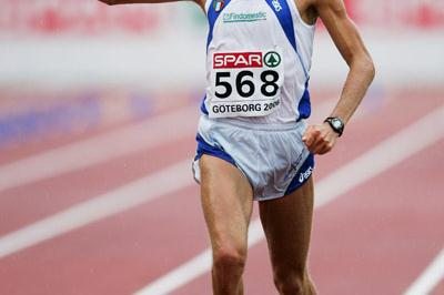Stefano Baldini - Marathon Gold in Gothenburg (Getty Images)