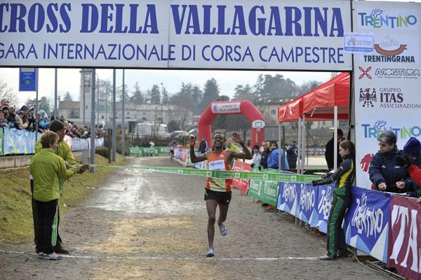 Muktar Edris wins the Cross della Vallagarina (Daniele Montigiani)