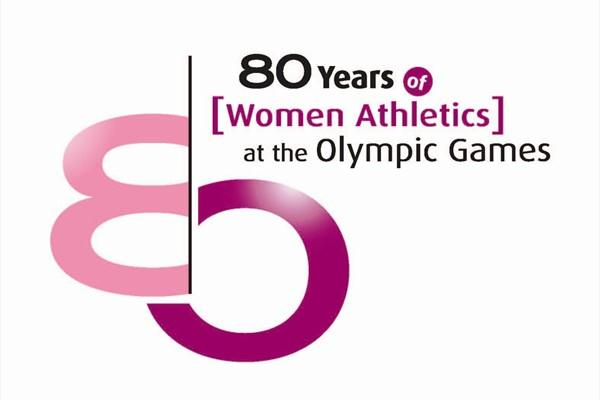 80th Anniversary of Women's Athletics in the Olympics - logo of photo exhibition (IAAF.org)