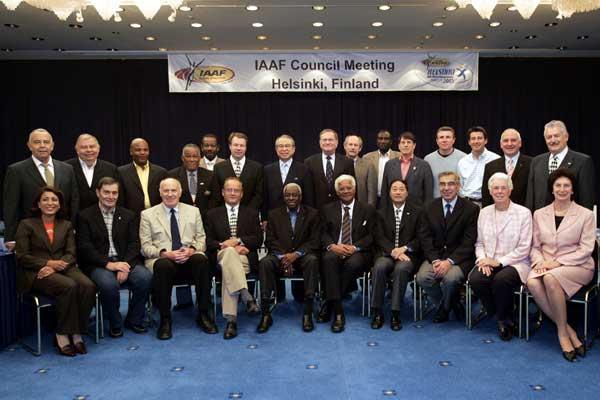 IAAF Council in Helsinki, Finland, 13 Aug 2005 (Hannu Jukola)