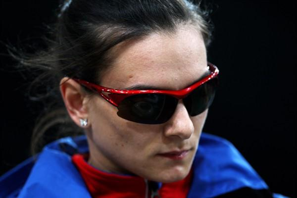 Yelena Isinbayeva of Russia misses out on the World Indoor title in Doha with a best of 4.60m for 4th (Getty Images)