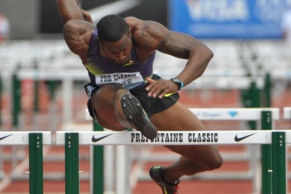 David Oliver flies to 12.90 victory in Eugene - Samsung Diamond League (Kirby Lee)