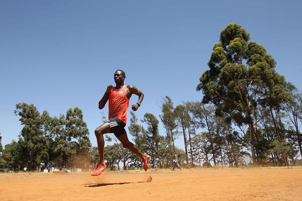 David Rudisha training in Kenya (Getty Images)