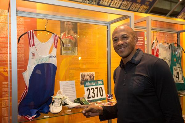 Frank Fredericks - IAAF Centenary Historic Exhibition (IAAF)