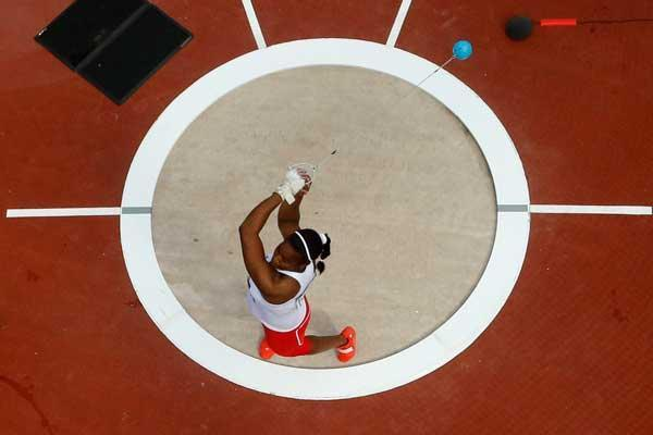 Women's Hammer throw  (Getty images)