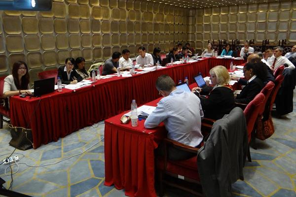Co-ordination Commission for IAAF World Championships Beijing 2015 in session (IAAF / Beijing LOC 2015)