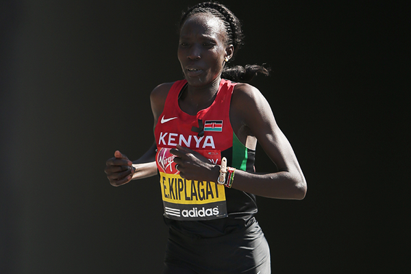 Kenyan marathon runner Edna Kiplagat (Getty Images)