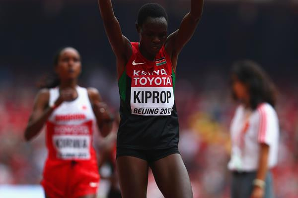 Helah Kiprop in the marathon at the IAAF World Championships, Beijing 2015 (Getty Images)