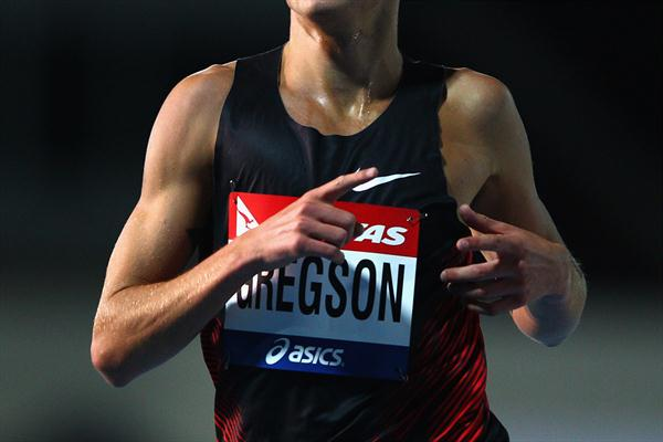 Ryan Gregson wins the 1500m at the Australian Olympic Trials beating World and Olympic champion Asbel Kiprop (Getty Images)
