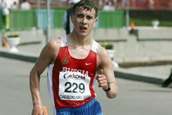 Aleksey Bartsaykin of Russia in action (Getty Images)