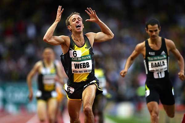 Alan Webb just can't believe he's won in Paris (Getty Images)