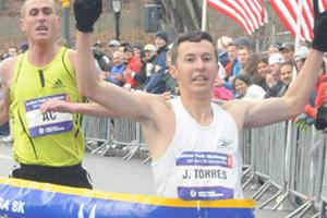 Jorge Torres wins Central Park Challenge (Courtesy of New York Road Runners)