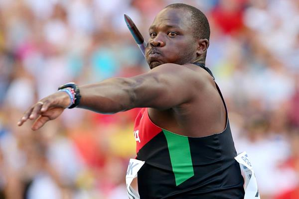 Kenyan Javelin record-holder Julius Yego (Getty Images)