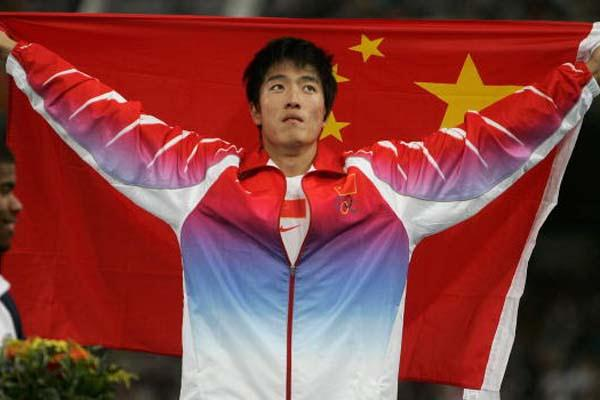 Liu Xiang - the first male gold medallist for China (Getty Images)