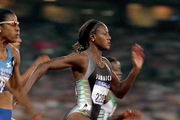 Merlene Ottey at the 2000 Olympic Games (Getty Images)