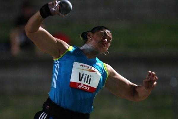 Valerie Vili - 20.57m in Sydney (Getty Images)