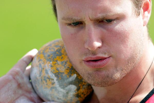 Tom Walsh of New Zealand in the shot (Getty Images)