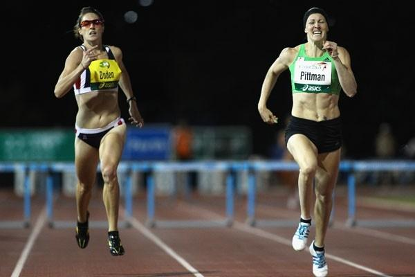 Jana Pittman prevails over Lauren Boden on competition comeback in Perth (Getty Images)