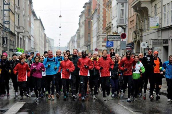 IAAF / AI Bank World half Marathon Championships Copenhagen 2014 promotional event (LOC)