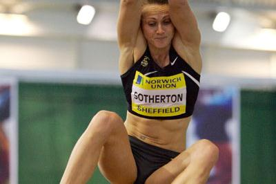 Prepping for Valencia - Kelly Sotherton in Sheffield (Getty Images)