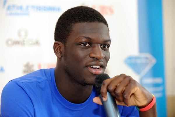 Kirani James in Lausanne (ATHLETISSIMA/Denis Roulet)
