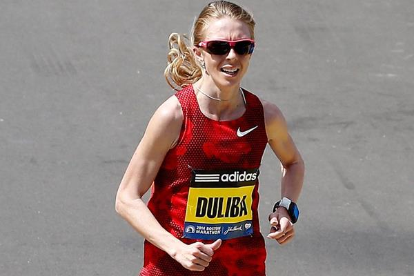 Belarusian distance runner Aliaksandra Duliba (Getty Images)