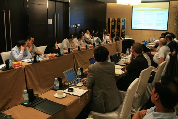 The IAAF meets with the Beijing 2015 LOC (Organisers)