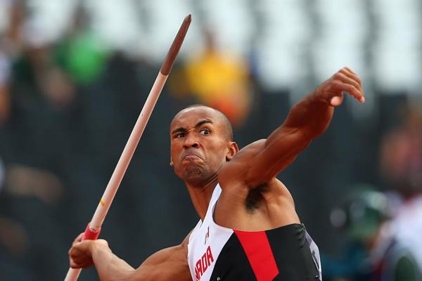Canadian decathlete Damian Warner (Getty Images)