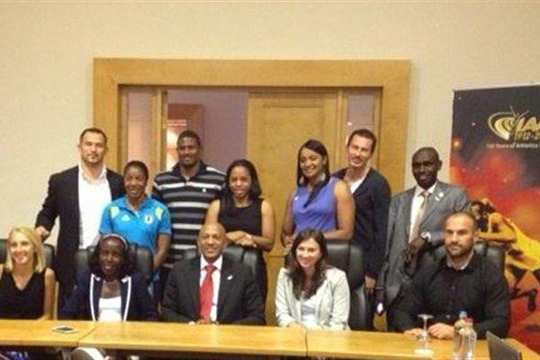 IAAF Athletes' Commission meeting in Brussels (IAAF)
