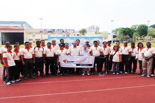 Lecturers - IAAF / Nestlé Kids' Athletics is activated in Malaysia (MAF)