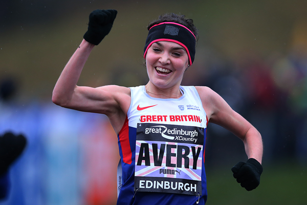 Kate Avery wins the Great Edinburgh X Country (Getty Images)
