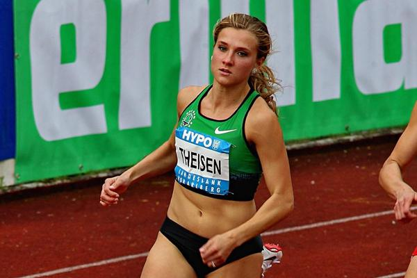 Brianne Theisen at the 2013 Hypo Meeting in Gotzis (PHOTO PLOHE)