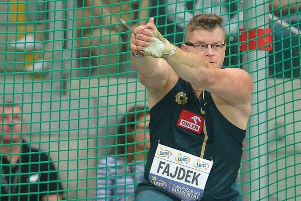 Pawel Fajdek, winner of the hammer (Marek Biczyk)