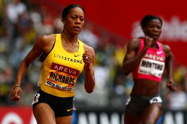 Sanya Richards records another convincing 400m victory, winning by more than a second (Getty Images)