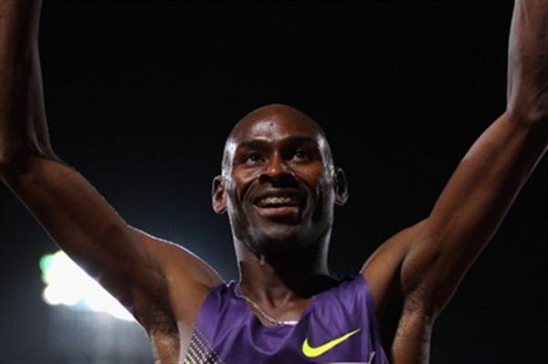 Bernard Lagat victorious in Melbourne (Getty Images)