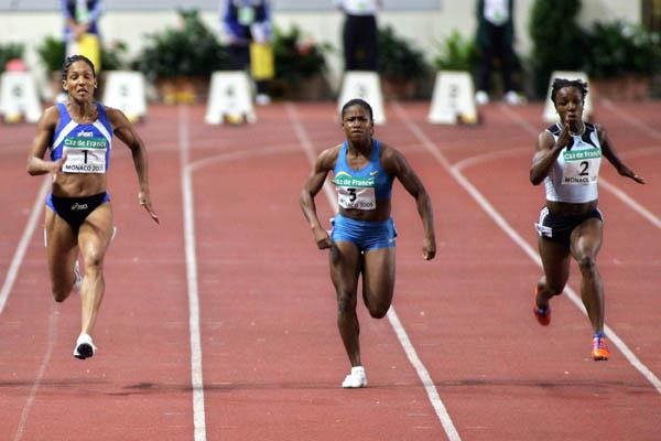 Christine Arron of France at the World Athletics Final (Getty Images)