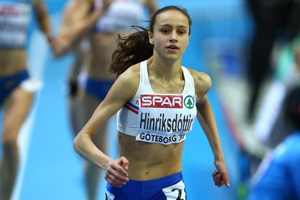 Middle-distance runner Anita Hinriksdottir of Iceland (Getty Images)