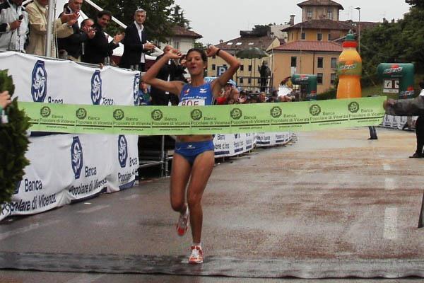 Nadia Ejjafini wins in Udine (Alberto Zorzi)