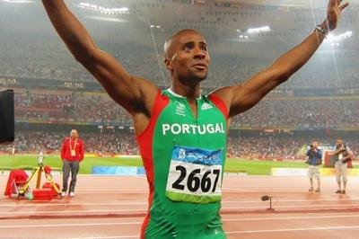 Nelson Evora wins back-to-back global titles in the triple jump (Getty Images)