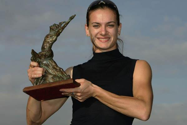 2005 World Athlete of the Year Yelena Isinbayeva (Getty Images)