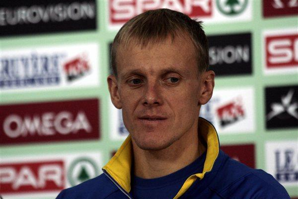 Sergey Lebid on the eve of the 2011 European Cross Country Championships in Velenje (Bob Ramsak)