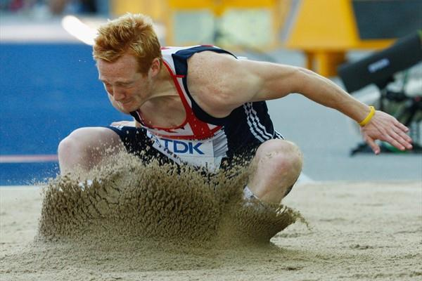Great Britain's Greg Rutherford sets a new National Record of 8.30m and reaches the automatic qualification in the men's Long Jump qualifying in Berlin (Getty Images)
