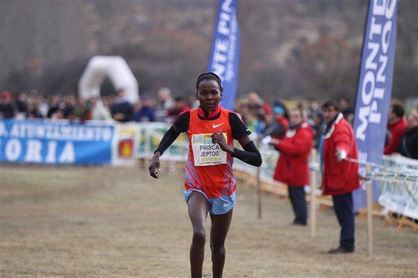 Priscah Jeptoo wins the 18th 'Cross Internacional de Soria'  ('Alfambra Fundacion ANOC')