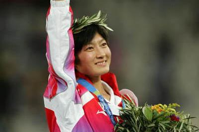 Huina Xing of China - 10,000m gold medallist (Getty Images)