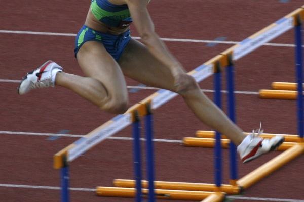 Fast 53.68 for Vania Stambolova in Rabat (Bob Ramsak)