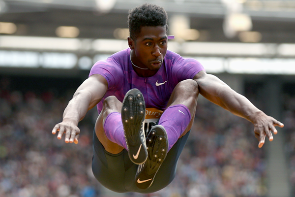 US long jumper Marquis Dendy (Getty Images)