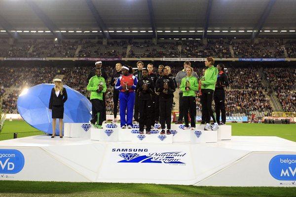 2011 Diamond Trophy winners - Brussels (Gladys Chai van der Laage)