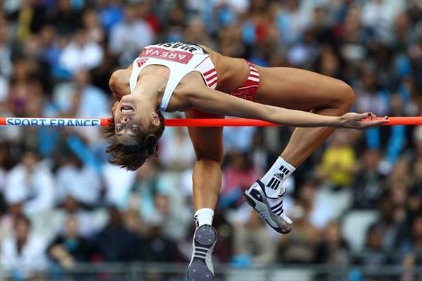 2.02m meet record in Paris by Blanka Vlasic (Errol Anderson)